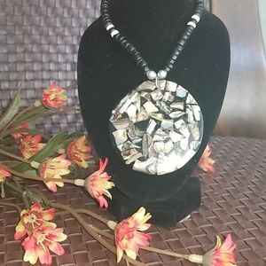 "Hawaiian Hand Crafted Choker Necklace; Length:17"""